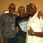 Neal, Tommy Davidson & AusJ of Black City Music Group